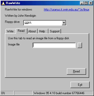 RawWrite for Windows